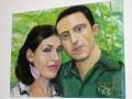 Portrét - ručne maľovaný obraz