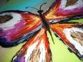Detail obrazu motýľa