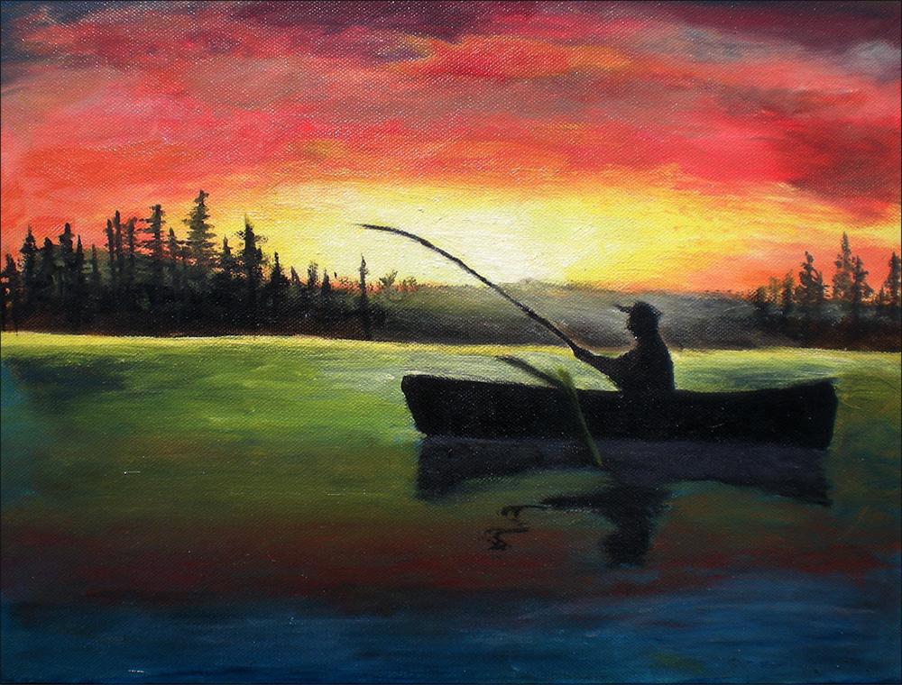 Maľované obrazy prírody