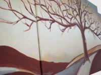 Obraz stromu - ručne maľovaný