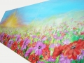 Maľovaný obraz - lúka