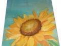 Slnečnica ručne maľovaný obraz