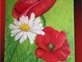 Divé maky ručne maľovaný obraz