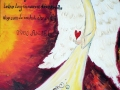 Anjel ochranca - maľovaný obraz