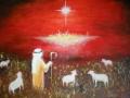 Pastier - ručne maľovaný obraz