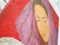 Mária - olejomaľba