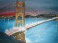 Most v San Franciscu - obraz