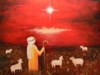 pastier - olejomaľba