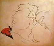 dama-s-motylom