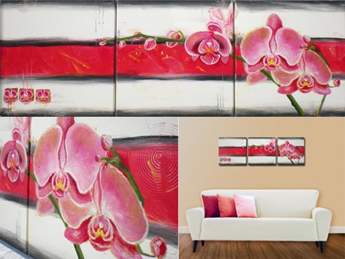 orchidea-viacdielny-obraz