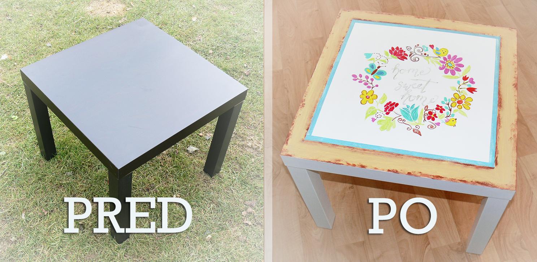 Ručne maľovaný nábytok