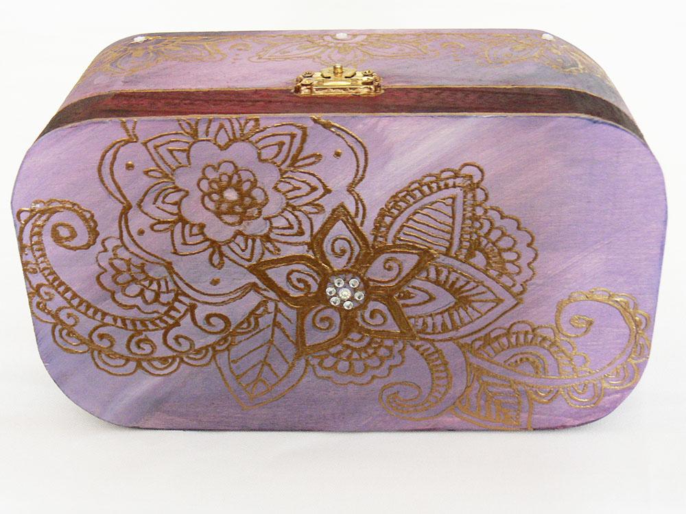 maľovaná krabička