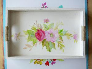 tácka ručne maľovaná
