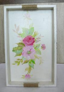 podnos ručne maľovaný